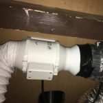 Vervangen ventilator badkamer